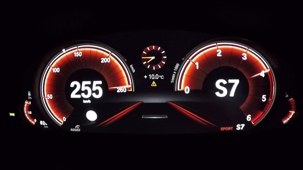 2017 Bmw 530d Xdrive Limousine G30 0 100 Kmh 0 60 Mph Tachovideo