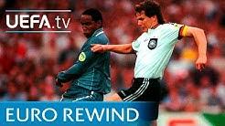 EURO 96 highlights: Germany v England