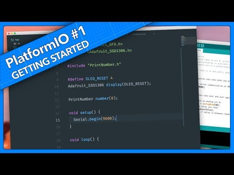 A Better Arduino IDE - Getting Started With PlatformIO
