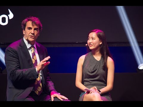 Tim Draper (Draper VC) & Justina Lee (Bloomberg) on Investing in blockchain   TNW Conference 2018