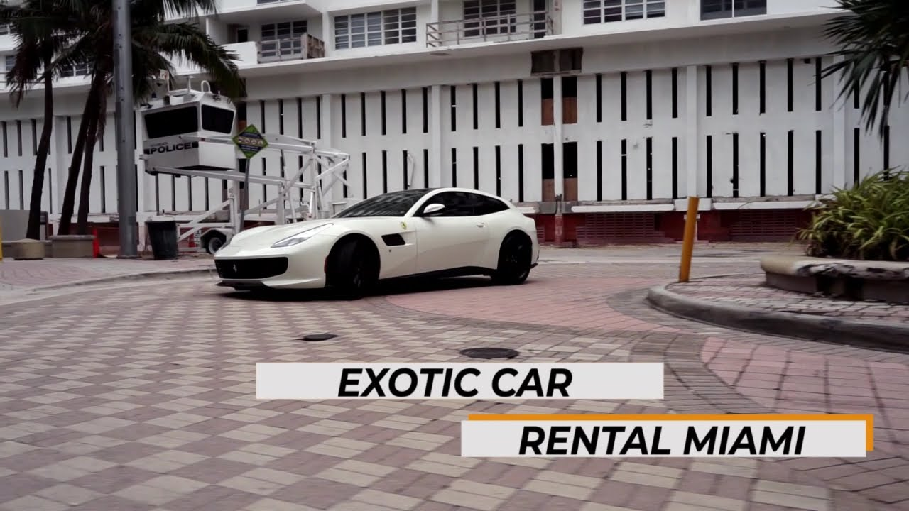 Miami Exotic Car Rental - New 2021 Ferrari Lusso video out now - YouTube