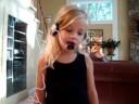 Jamie as Hannah Montana