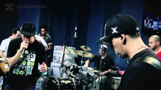 """Planta e Raiz em """"Pique natty dread"""" no Estúdio Showlivre 2012"""
