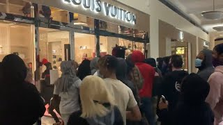 Looters raid Louis Vuitton, Gucci & Moncler amid George Floyd Protests