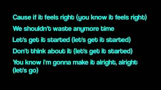 Pitbull ft. Shakira - Get it started - lyrics