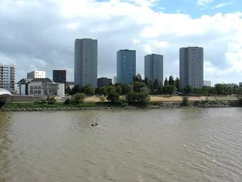 Nantes, France : Vulcain towers