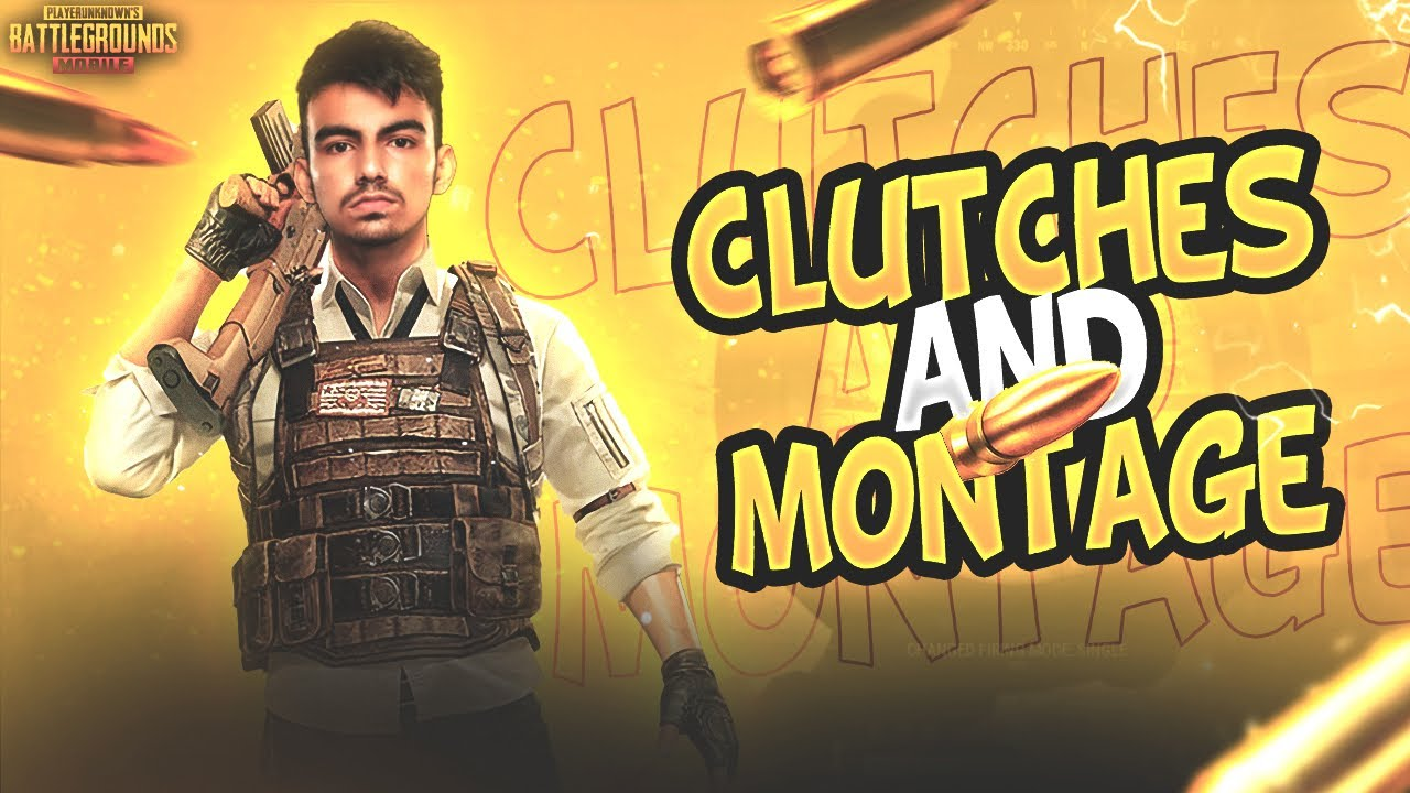EPIC CLUTCH MOMENTS AND MONTAGE | SCRIMS | PUBG MOBILE