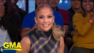 Jennifer Lopez talks learning to pole dance from Cardi B l GMA