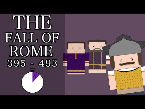 Ten Minute History - The Fall of Rome (Short Documentary)