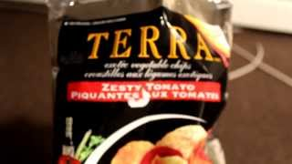 Review Terra Zesty Tomato Vegetable Chips Root Yucca Taro