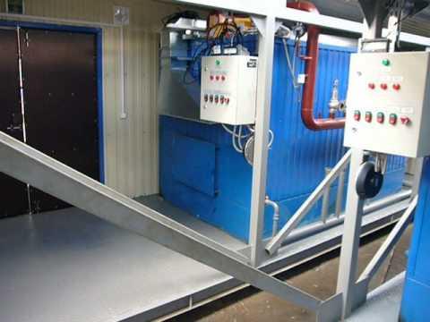 Модульная котельная установка, производство, монтаж и пусконаладка