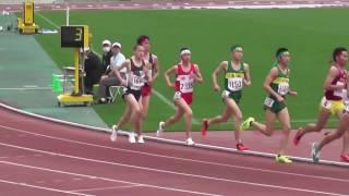 2017山口県陸上競技記録会 男子3000m4組目