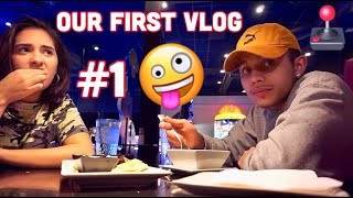 OUR FIRST VLOG | VLOG #1 | COUPLES CHANNEL