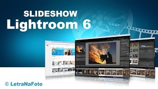 Slideshow no Lightroom 6 / Lightroom CC 2015  - Letra Na Foto