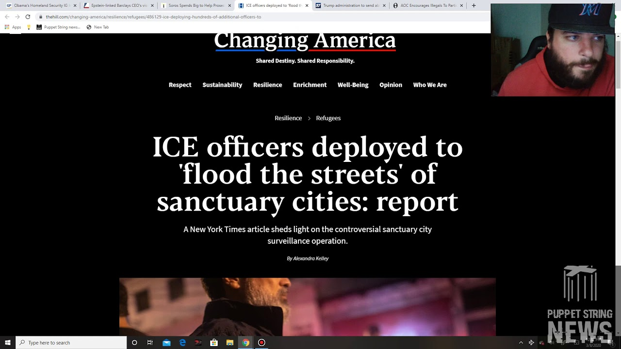 Soros caught subverting law enforcement again, Obama DHS IG indicted, Major ICE operation launches