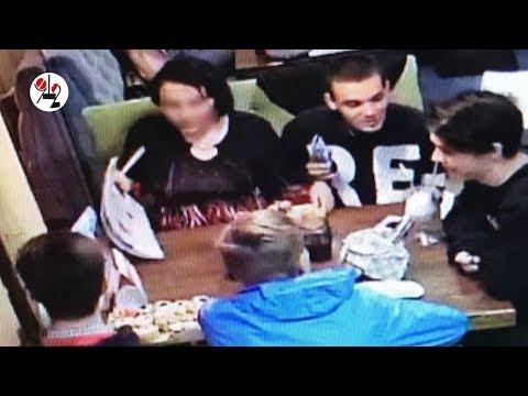 видео: Заказывают дорогую еду и напитки и сбегают