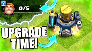HOW MANY UPGRADES DID WE GET!? - Clash Of Clans