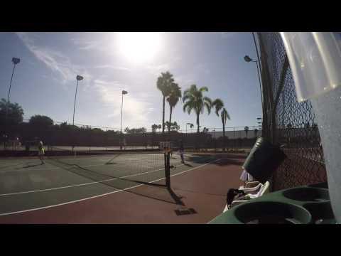 Tennis Practice at TTC w/Yuki -4, 09/22/2016