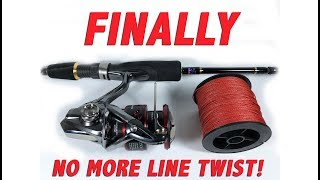 How to ACTUALLY Spool a Spinning Reel WITHOUT Line Twist