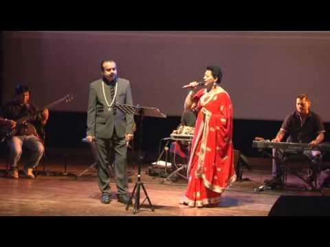 Aap Ki Ankhon Mein Kuch - Live Singing By Rajan David & Sumita Saksena