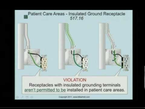 NEC 2011 Health Care  Isolated Ground Receptacles 51716