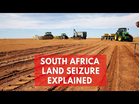 Why South Africa voted to seize land from white farmers to give to black owners