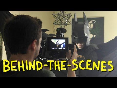 "Tim Burton's ""I'm Batman"" - Homemade w/ TJ Smith, Jimmy Tatro & Mikey Bolts (Behind The Scenes)"
