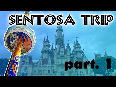 TIGER TOWER !! | Sentosa Trip | ( part. 1/3 )