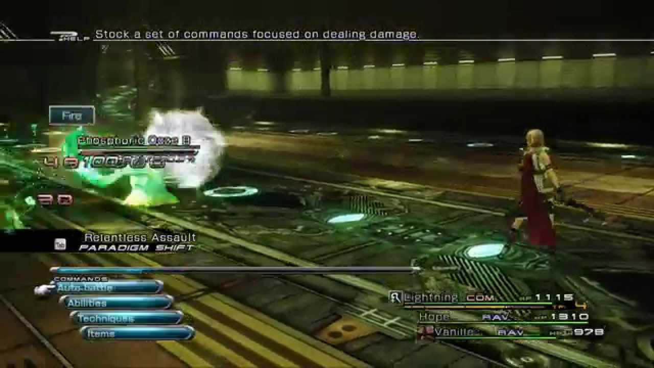 [FFXIII PC] Brief Gameplay Full HD with SweetFX + Fixes (See desc  for  details)
