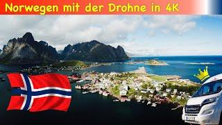 Norwegen Juni 2018: 4K Drohnen Spezial
