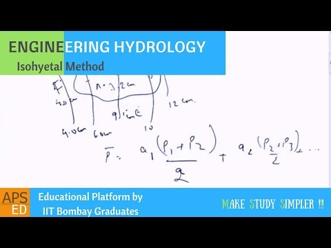 Isohyetal Method to Calculate Mean Precipitation | Engineering Hydrology
