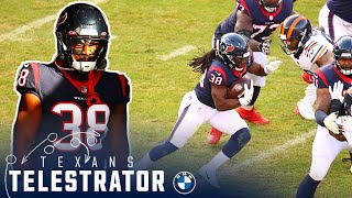 John harris breaks down buddy howell's run game against the chicago bears in week 14 on texans telestrator.subscribe to houston channel: t...