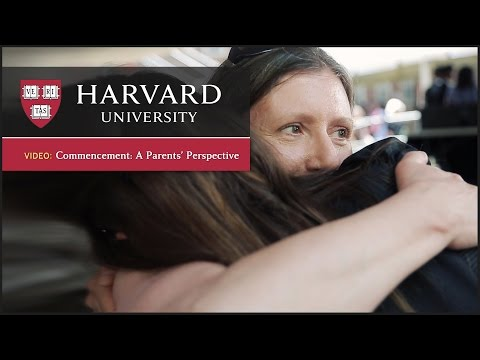 Harvard Commencement: Meet the Parents