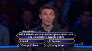 Who Wants To Be A Millionaire? - BEAU HENSON