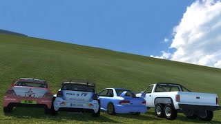 BeamNG.drive - Climb Brutal Slope!