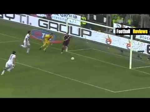 Jeremy Menez Fantastic BackHeel Goal vs Parma - Parma vs AC Milan 4-5