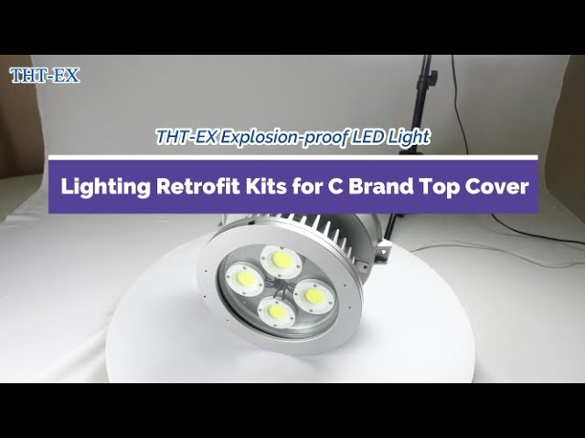 THT-EX Explosion-proof LED Lighting Retrofit Kits for C Brand Top Cover