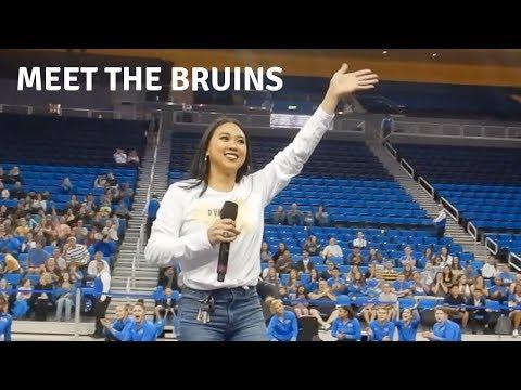 UCLA Gymnastics Meet the Bruins | The Adventures of Peng Peng