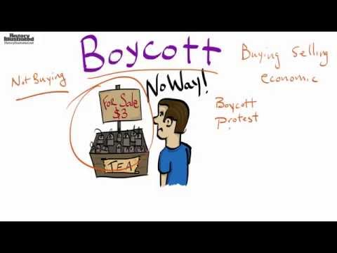 Boycott Definition Kids