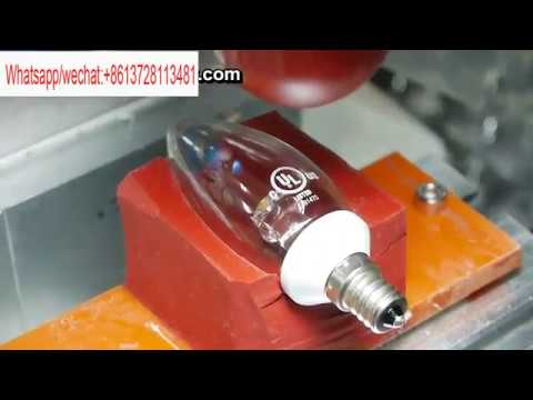 Lian Yi pad printing machine for LED bulb