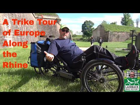 Recumbent Trikes Tour Along the Rhine-Laidback Bike Report