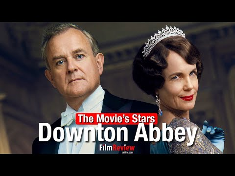 Downton Abbey Movie's Stars - Character Portraits - EXCLUSIVE VIDEO