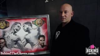 Artist, Tony Nasa, reveals his Thurmas vs. Garcia art piece
