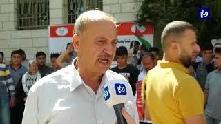 مواجهات بين طلبة جامعة بيرزيت المتضامنين مع الأسير عربيد وقوات الاحتلال - (1/10/2019)