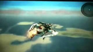 Final Fantasy Type-0 - Air Ship Gameplay