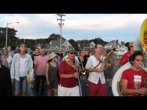 Second Line Brass Band - Mardi Gras at Onset