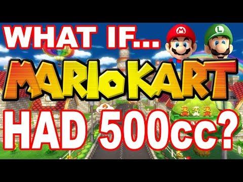 WHAT IF Mario Kart Had 500cc?!?!