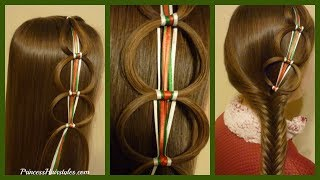 Hey guys! Today we are sharing another fun Christmas hairstyle idea...