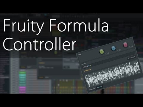 Fruity Formula Controller - Gaussian Distribution