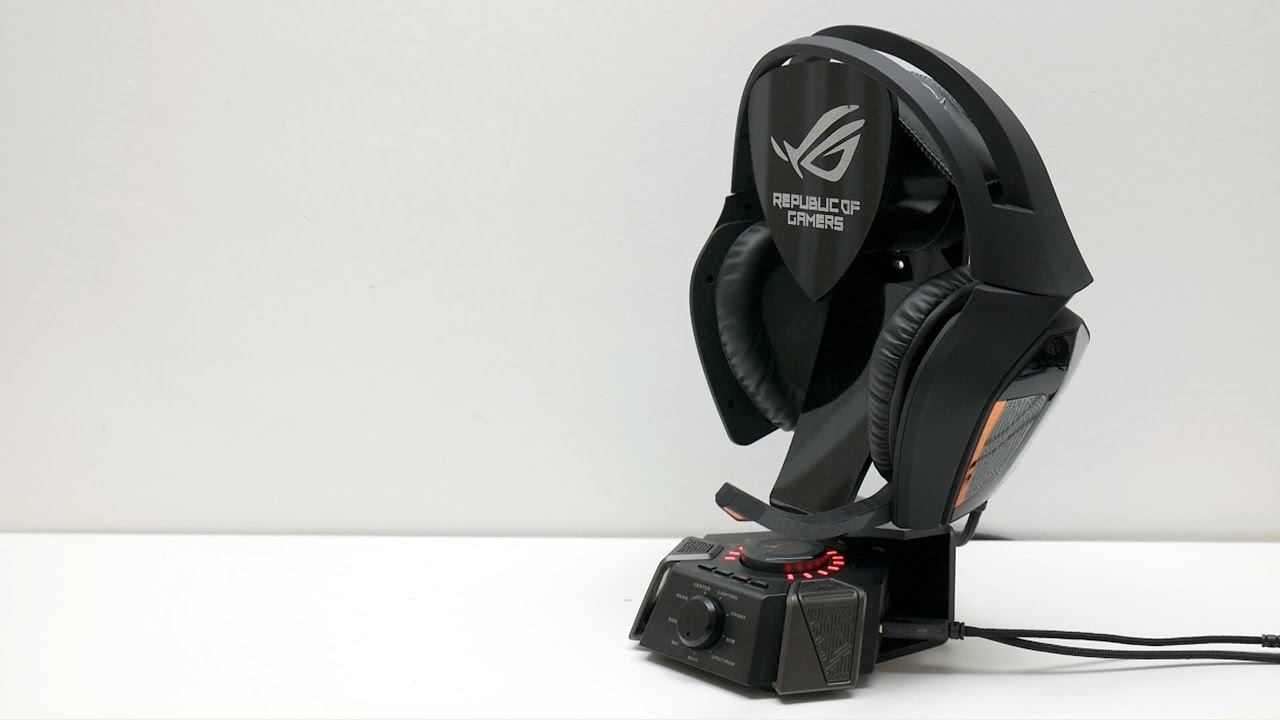 Asus ROG Centurion review - true 7.1 surround in a headset - YouTube 1ebccd679e